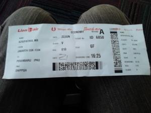 Batik Air Id6850 Jakarta Pekanbaru Pengalaman Pertama Batik Air