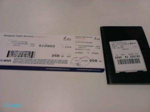 My Boarding Pass and Passport | Doc: Fazword