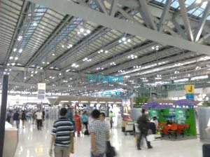 Check in Counters at BKK | Doc: Fazword