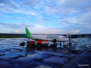 Citilink A320 at Lombok International Airport | Doc: Fazword