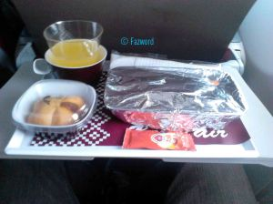 Inflight Meals Batik Air | Doc: Fazword
