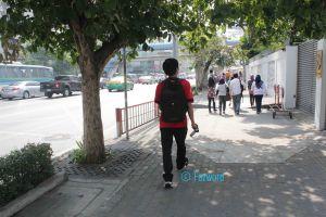 To Pratunam Market | Doc: Fazword & Friends