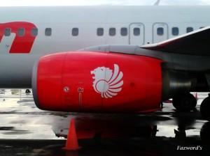 Jet View Lion Air PK-LFI B737-9GPER | Doc: Fazword