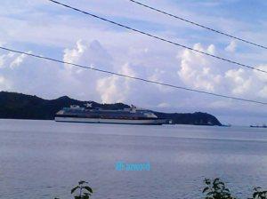 Kapal Pesiar @ Lembar | Blur Doc: Fazword
