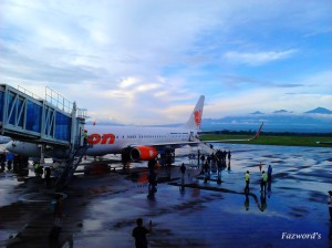 Lion Air B737-9ER at Lombok International Airport | Doc: Fazword