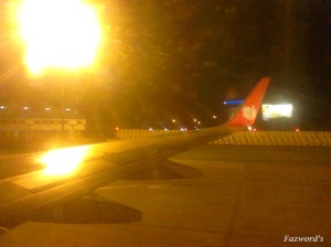 Arrive at Jakarta Airport | Doc: Fazword