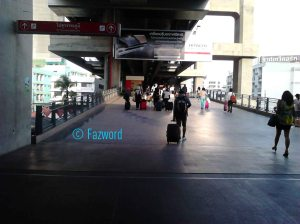 Phaya Thai to Suvarnabhumi | Doc: Fazword