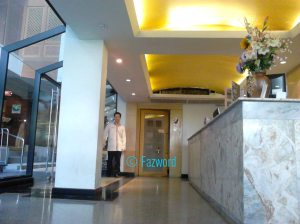 Residence Hotel Bangkok Lobby | Doc: Fazword