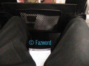 Seat Pitch Mandala Air A320 | Doc: Fazword