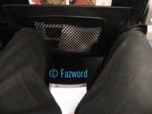 Seat Pitch Mandala Air A320 | Doc: Fazword