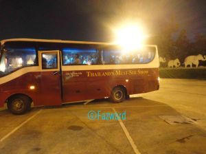 Siam Niramit's Shuttle Bus | Doc: Fazword