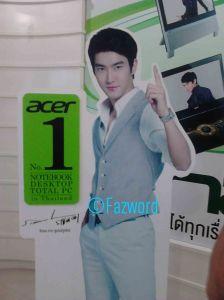 Acer Ambassador, Choi Siwon | Doc: Fazword
