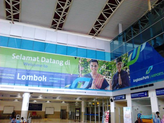 Welcome to LOP at Check-in Area