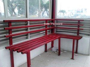 Interior Halte Trans Metro Pekanbaru | Doc: Fazword