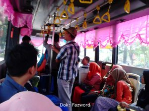 Inside Trans Metro Pekanbaru | Doc: Fazword