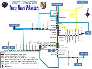 Rute Trans Metro Pekanbaru | Foto: wisatapekanbaru.com