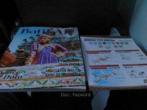 Batik Air Magazine and Invocation card | Doc: Fazword