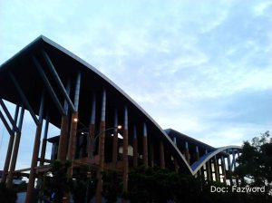 Gedung Pustaka Wilayah Soeman HS | Doc: Fazword