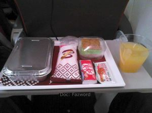Inflight Meals Batik Air | Doc: Fazword