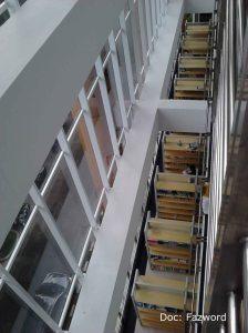 Rak Buku Lantai 2 Tampak dari Lantai 3 | Doc: Fazword