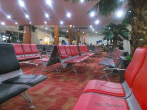 Ruang Tunggu Sultan Syarif Kasim II Int'l Airport | Doc: Fazword