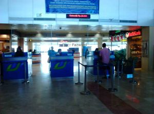 Airport Tax Counter LOP | Doc: Fazword