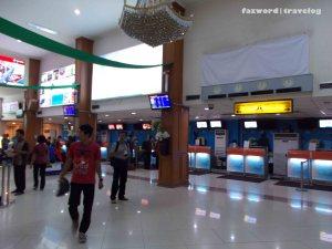 Check-in Hall Bandung Airport | Doc: Fazword