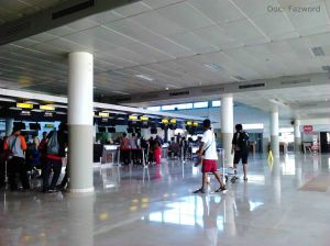 Check-in Counters Bandara Internasional Lombok | Doc: Fazword