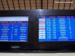 FIDS Juanda Airport | Doc: Fazword