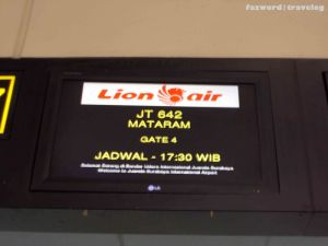 Check in Counter Lion Air JT642 | Doc: Fazword