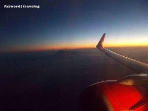 Sunset Onboard Lion Air JT642 | Doc: Fazword