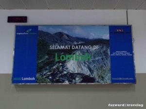 Selamat Datang di Lombok | Doc: Fazword