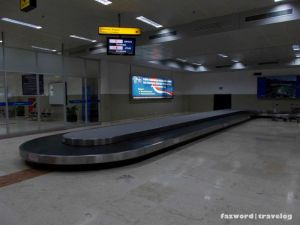 Conveyor Belt Lombok Airport | Doc: Fazword