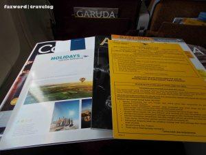 Garuda Indonesia Magazines | Doc: Fazword