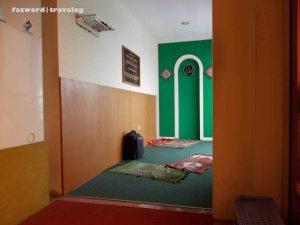 Moeslem Prayer Room | Doc: Fazword
