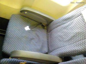Seat 19F PK-CLK Sriwijaya Air | Doc: Fazword