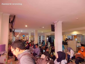 Waiting Room Husein Sastranegara Airport | Doc: Fazword
