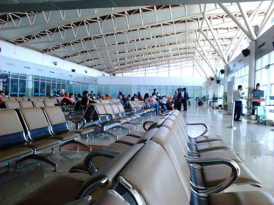 Waiting Room Lombok International Airport | Doc: Fazword