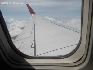 Wing View Garuda Indonesia