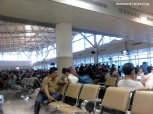 Lombok Airport Waiting Room | Doc: Fazword