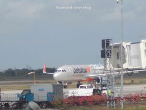 Jetstar Airways at Lombok | Doc: Fazword
