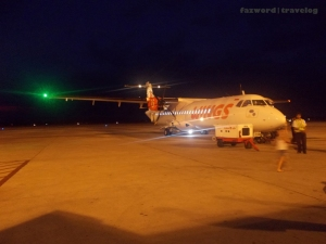 Wings Air ATR72-500 at Lombok International Airport | Doc: Fazword
