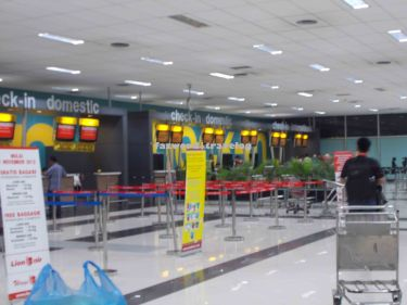 Tigerair Mandala Check-in Counter Soekarno-Hatta Airport | Doc: Fazword