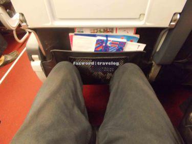 Legroom A320 AirAsia   Doc: Fazword