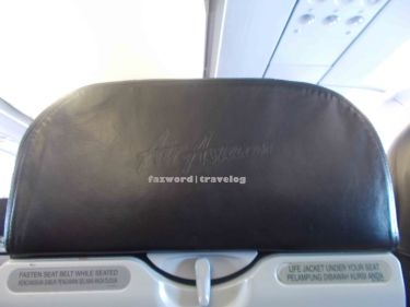 AirAsia Seat   Doc: Fazword