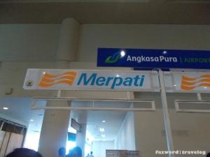Counter Check in Merpati Denpasar | Doc: Fazword