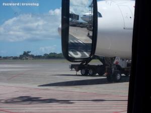 Garuda Indonesia A330-200 PK-GPS' nose  | Doc: Fazword