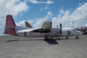 Transnusa Fokker 50 PK-TNA | Doc: Fazword