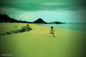Kuta Beach, Lombok | Doc: Fazword