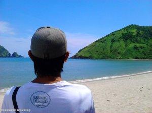 Faztravelog Pantai Mawun, Lombok | Doc: Fazword